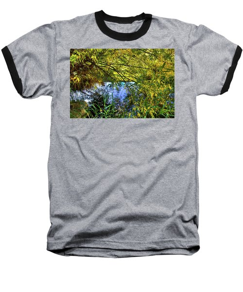 Baseball T-Shirt featuring the photograph A Peek At The River by David Patterson