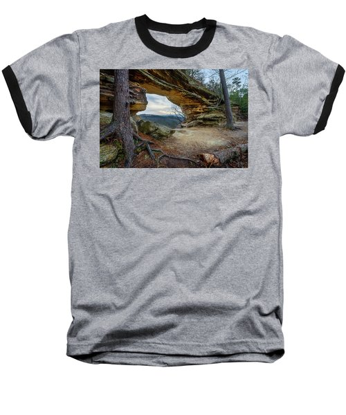 A Portal Through Time Baseball T-Shirt