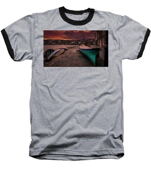 A Quiet Moment - Cornwall Baseball T-Shirt
