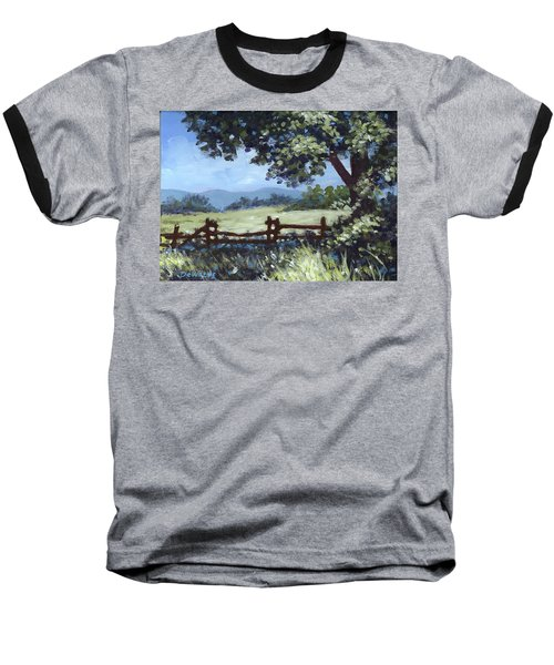 A Shady Rest Sketch Baseball T-Shirt
