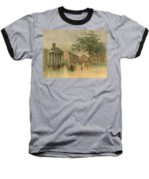 A Southwestern View Of Washington Square Baseball T-Shirt