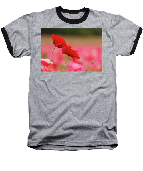 A Tale Of  Two Poppies Baseball T-Shirt