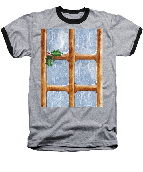 A Visit From Jack Frost Baseball T-Shirt