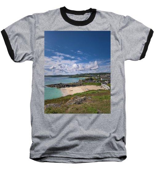 A Walk To Porthgwidden Beach - St Ives Cornwall Baseball T-Shirt