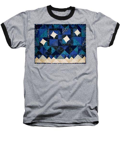 A Winter Snowscape Baseball T-Shirt