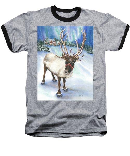 A Winter's Walk Baseball T-Shirt
