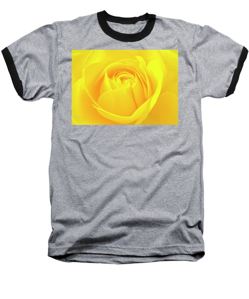 A Yellow Rose For Joy And Happiness Baseball T-Shirt