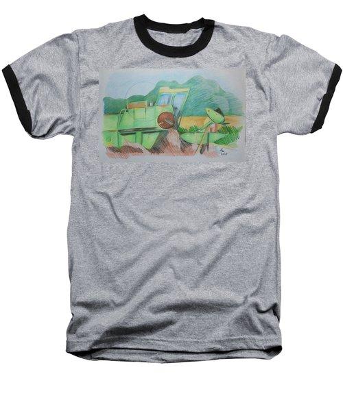 Abandoned Combine Baseball T-Shirt