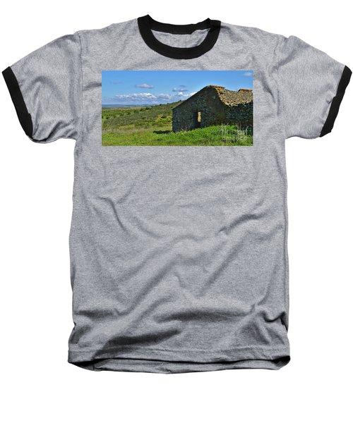 Abandoned Cottage In Alentejo Baseball T-Shirt
