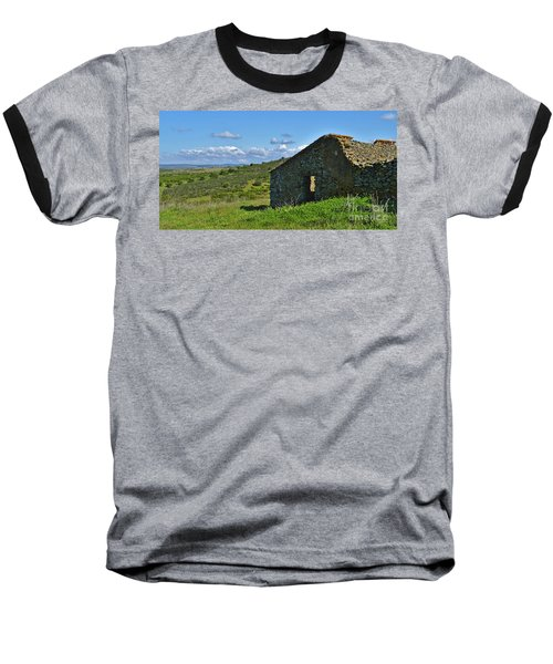 Abandoned Cottage In Alentejo Baseball T-Shirt