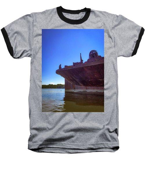 Baseball T-Shirt featuring the photograph Abandoned Ship by Lora J Wilson