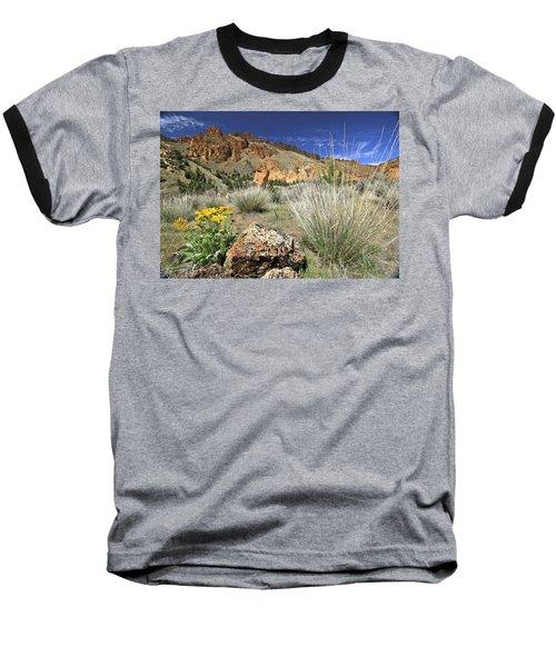 Above Juniper Gulch Baseball T-Shirt