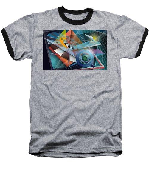 Abstract 4 Baseball T-Shirt