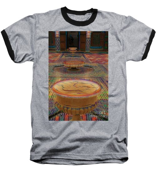 Abstract Architecture Morocco  Baseball T-Shirt
