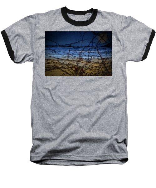 Abstract Landscape Baseball T-Shirt