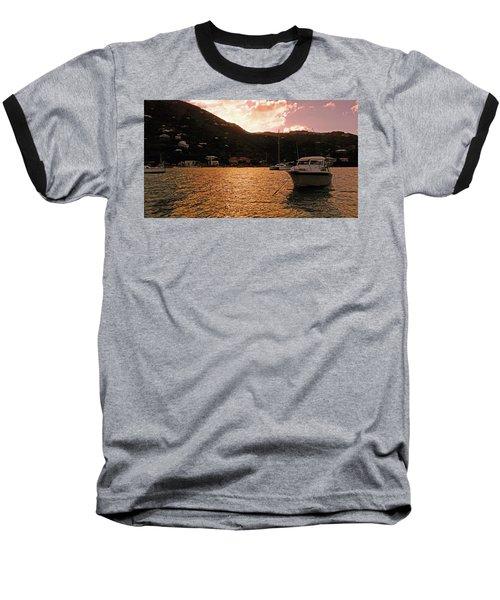 Abstractions Of Coral Bay Baseball T-Shirt