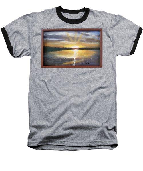 African Sunset Baseball T-Shirt