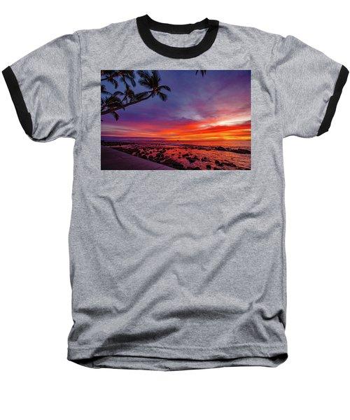 After Sunset Vibrance Baseball T-Shirt