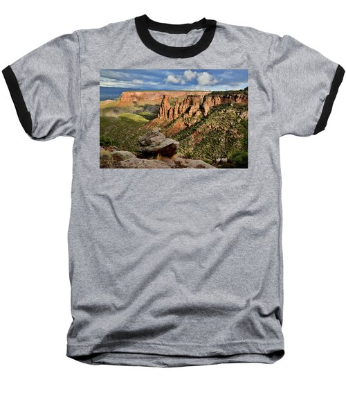 After The Storm Light On Colorado National Monument Baseball T-Shirt