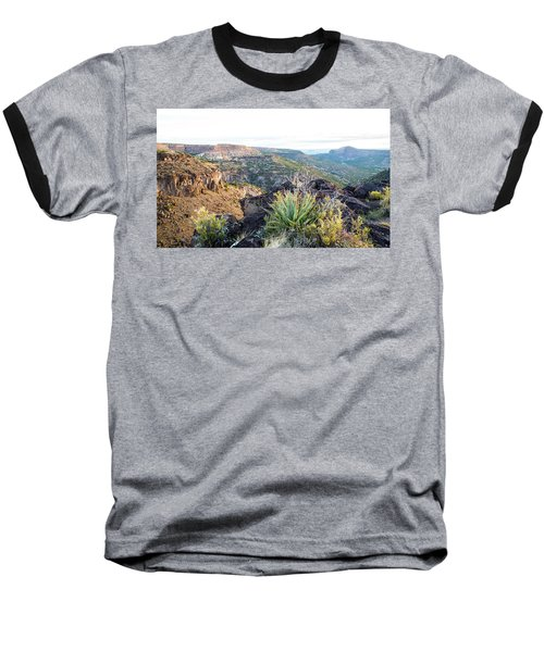 Agave Sunrise Baseball T-Shirt