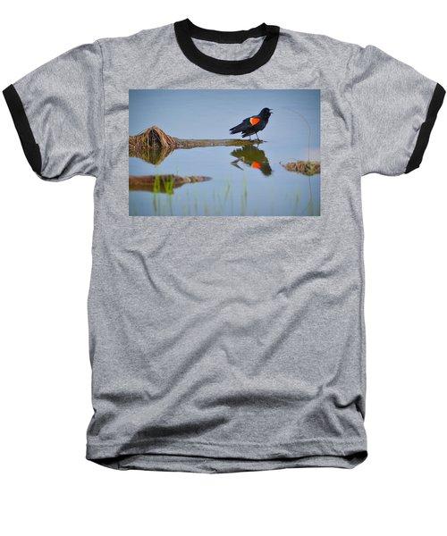 Agelaius Phoeniceus Baseball T-Shirt
