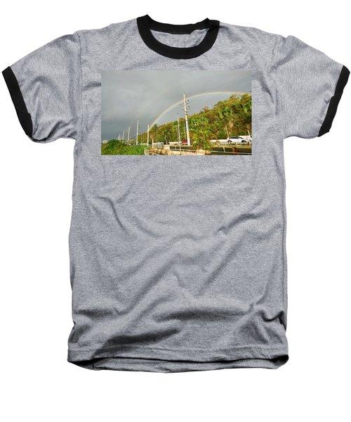 Aguadilla Rainbow Baseball T-Shirt