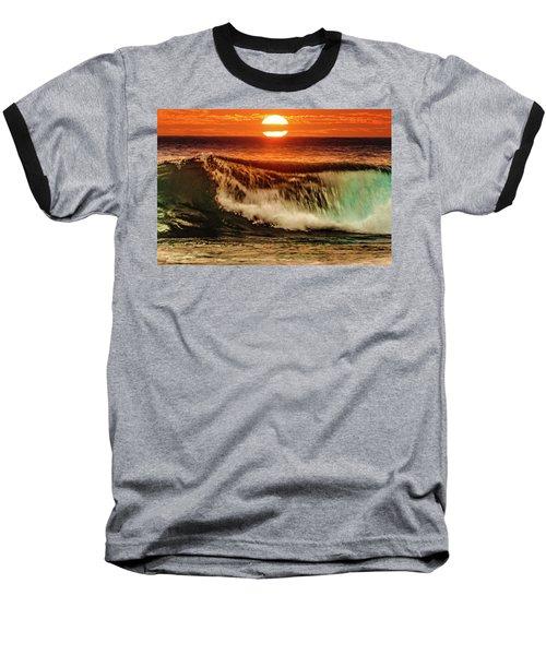 Ahh.. The Sunset Wave Baseball T-Shirt