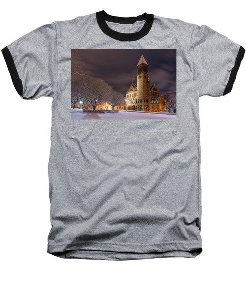Albany City Hall Baseball T-Shirt
