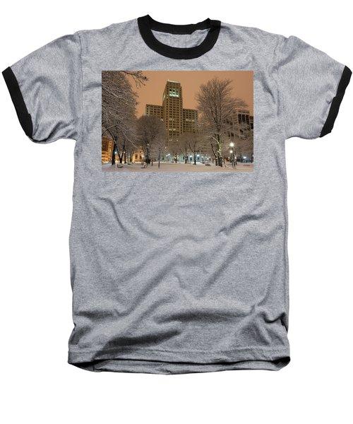 Alfred E. Smith Building Baseball T-Shirt