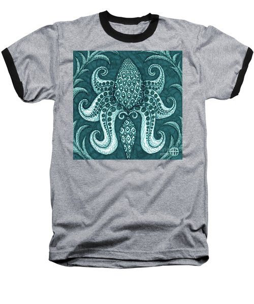 Alien Bloom 3 Baseball T-Shirt