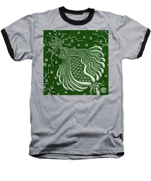 Alien Bloom 5 Baseball T-Shirt