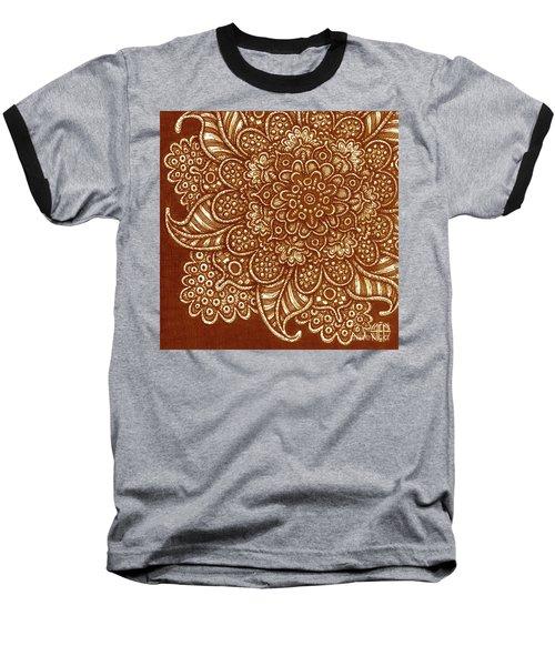 Alien Bloom 7 Baseball T-Shirt