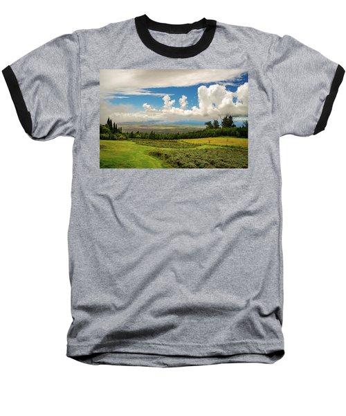 Alii Kula Lavender Farm Baseball T-Shirt