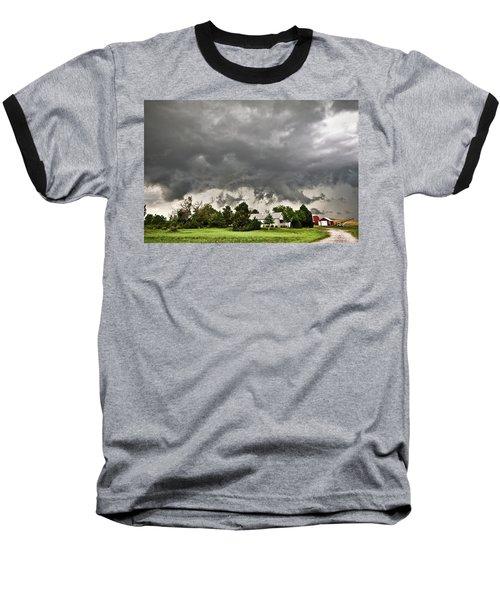 Alive Sky In Wyoming 2 Baseball T-Shirt