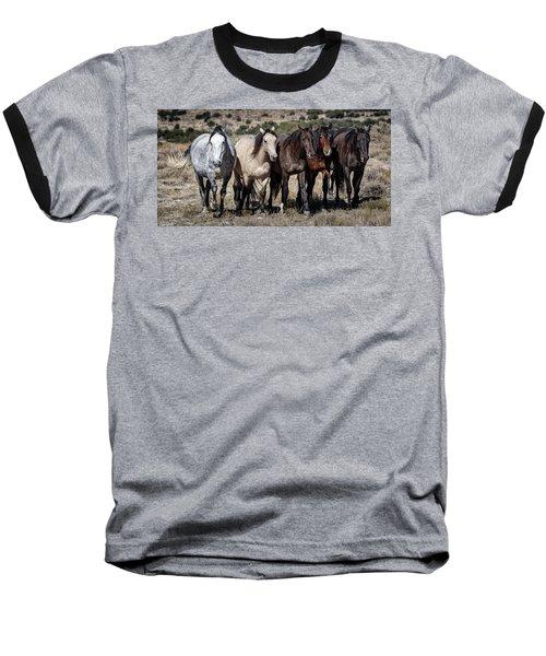 All In A Row Baseball T-Shirt