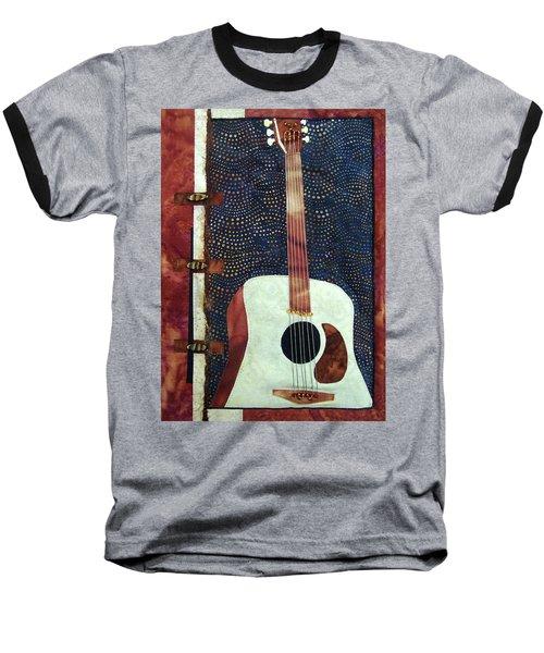 All That Jazz Guitar Baseball T-Shirt