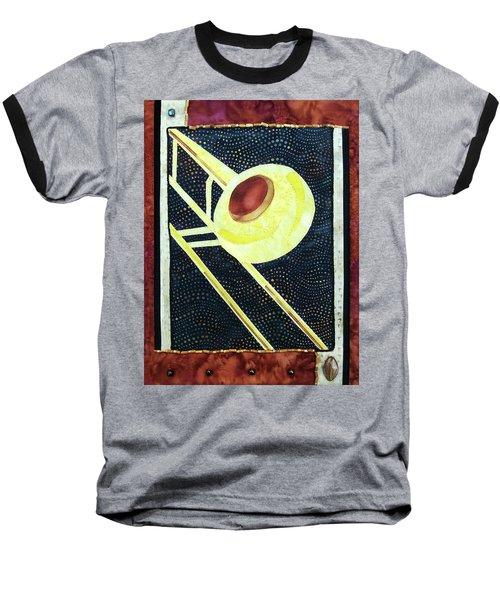 All That Jazz Trombone Baseball T-Shirt