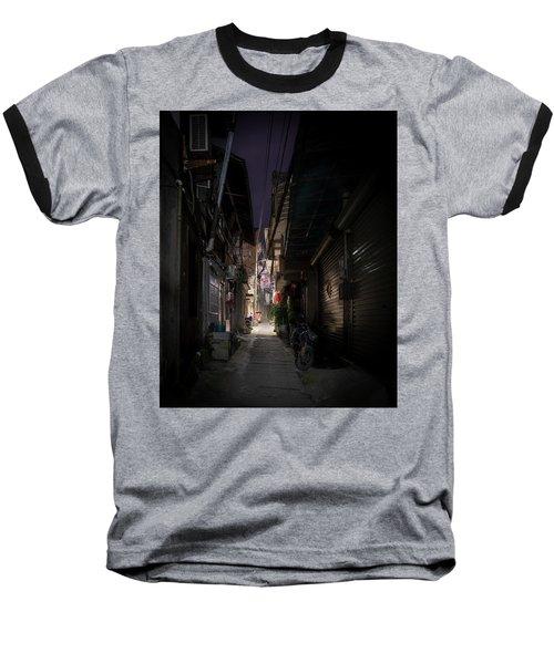 Alleyway On Old West Street Baseball T-Shirt
