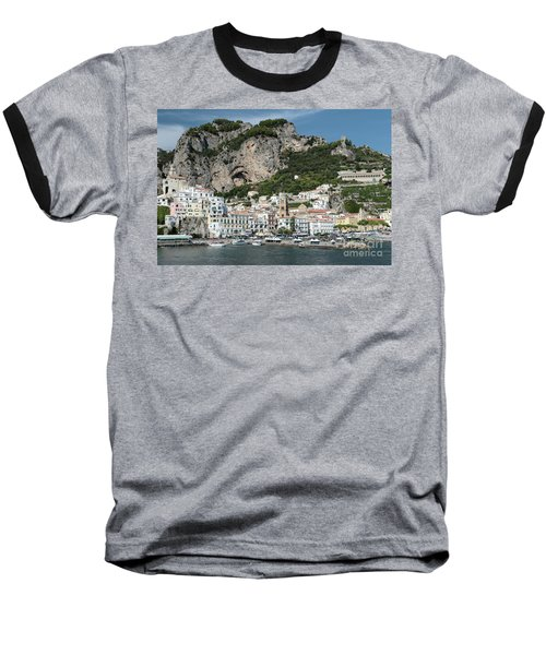 Amalfi Port Baseball T-Shirt