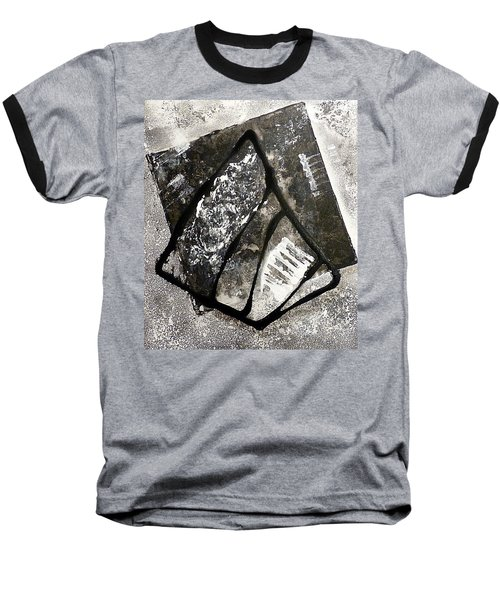Baseball T-Shirt featuring the painting Amarok by 'REA' Gallery
