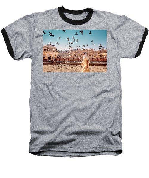 Amber Fortress Baseball T-Shirt