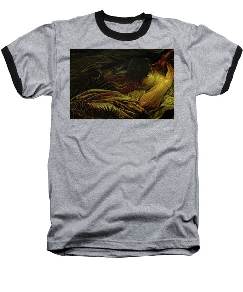 Amber Light Baseball T-Shirt