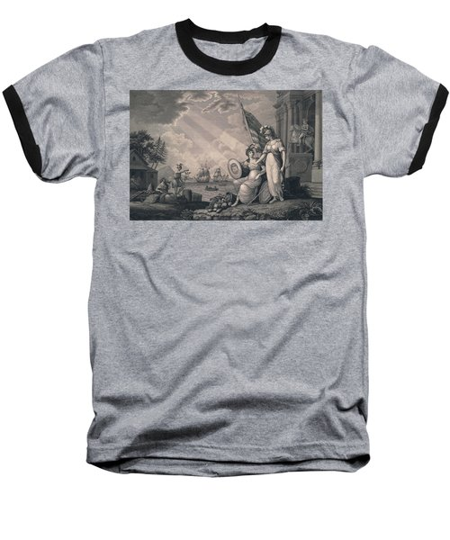America Guided By Wisdom Baseball T-Shirt