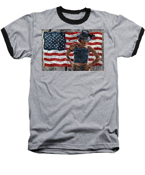 American Woman Baseball T-Shirt