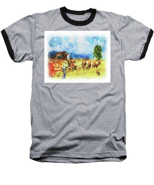 Amish Life Baseball T-Shirt