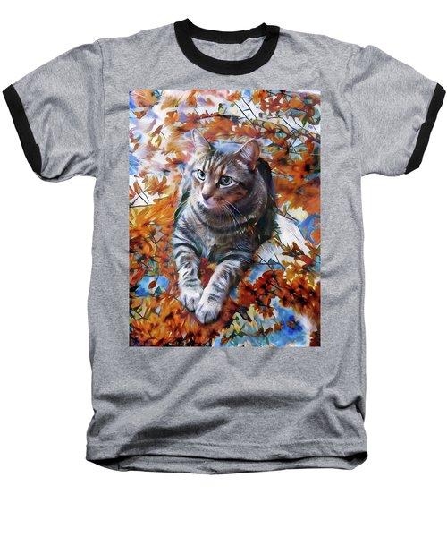 Amos In Flowers Baseball T-Shirt