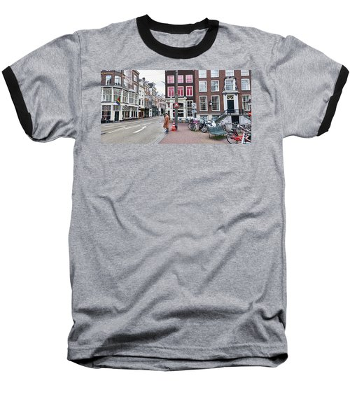 Amsterdam Pride Baseball T-Shirt