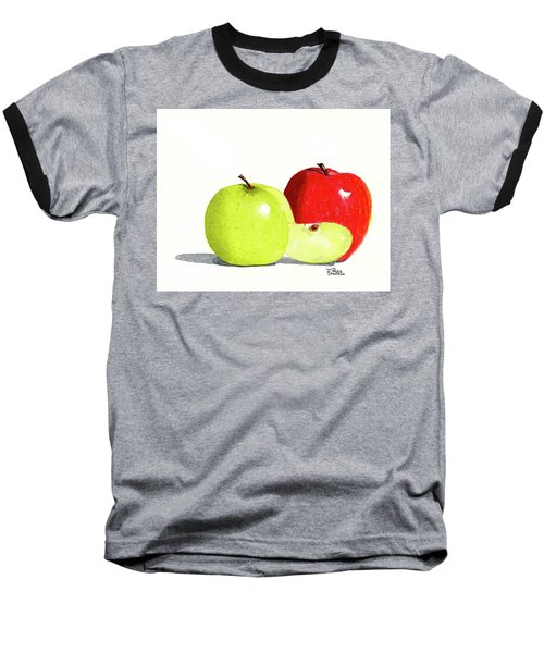 An Apple A Day Baseball T-Shirt