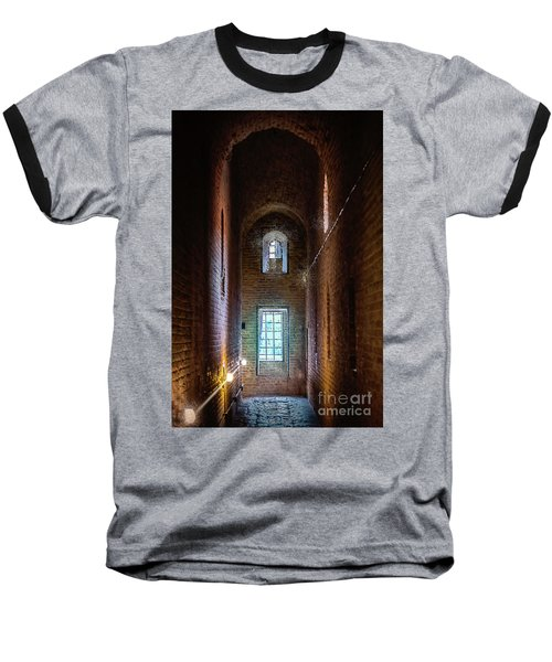 An Entrance To The Casemates Of The Medieval Castle Baseball T-Shirt
