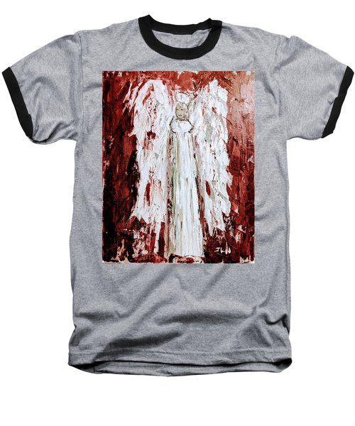 Angel Against Violence Baseball T-Shirt